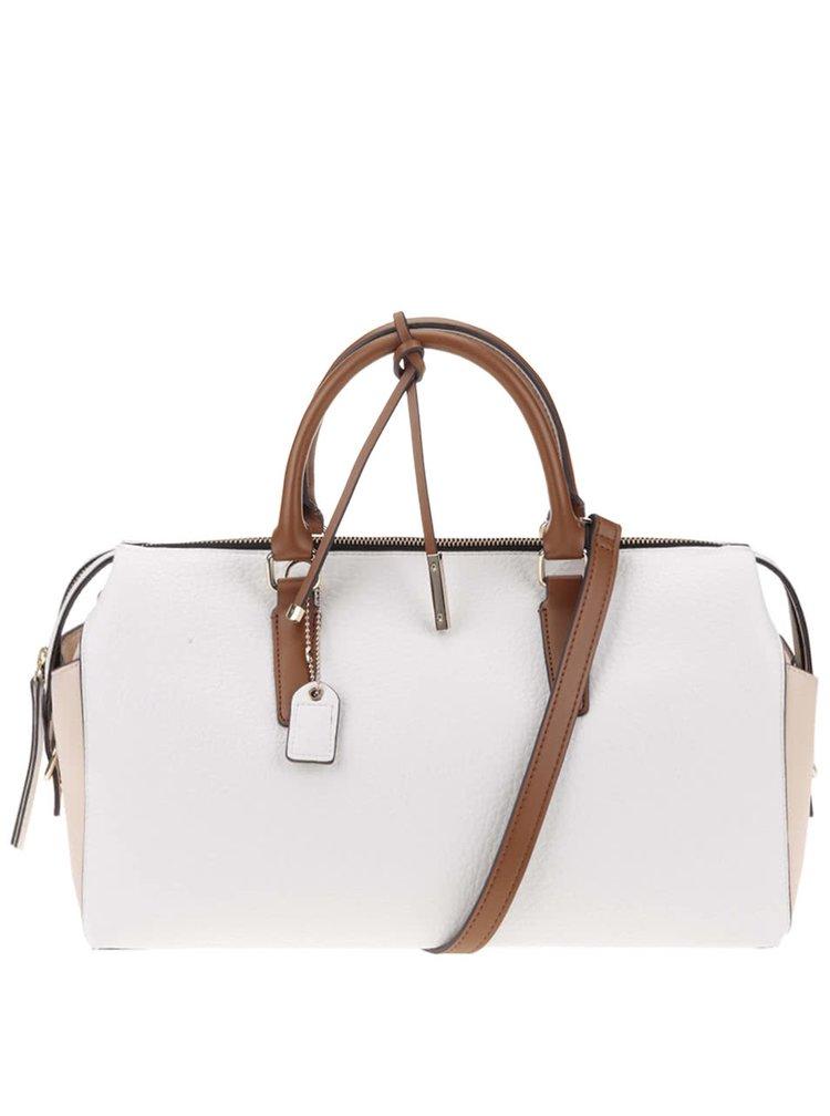 Béžovo-bílá kabelka Clarks Milang Chic
