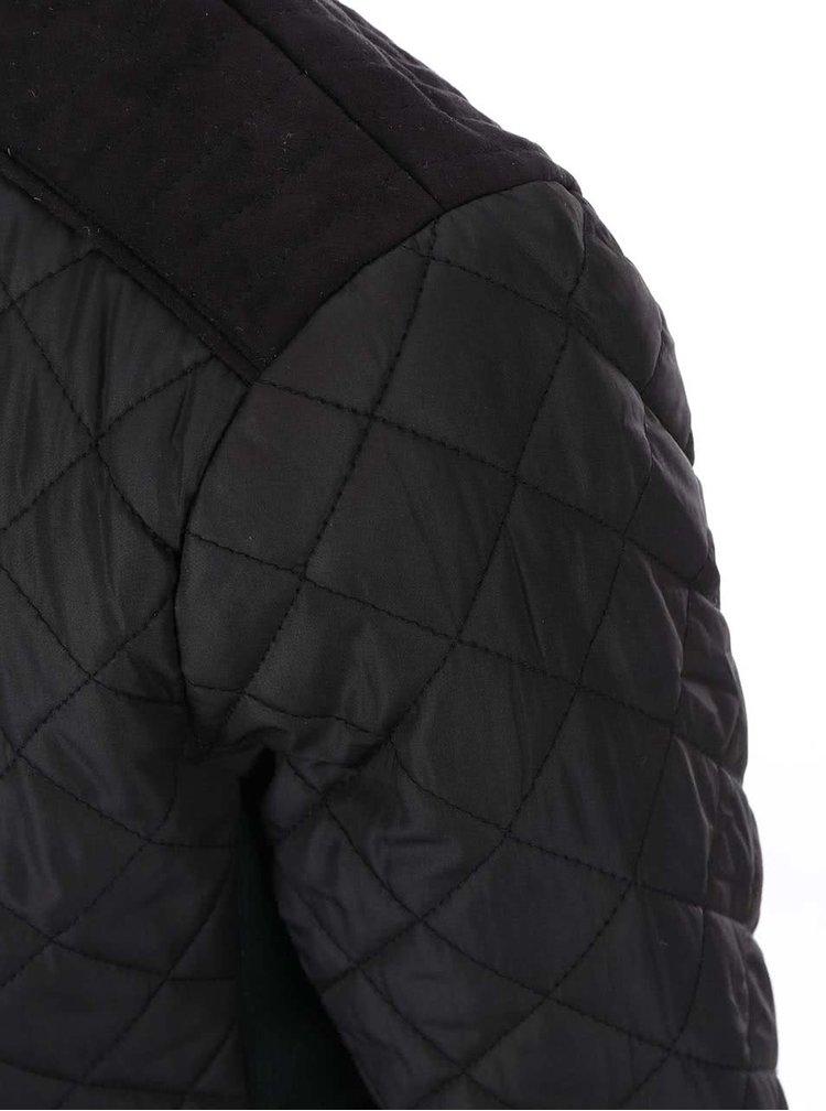 Černá prošívaná bunda ONLY Yana