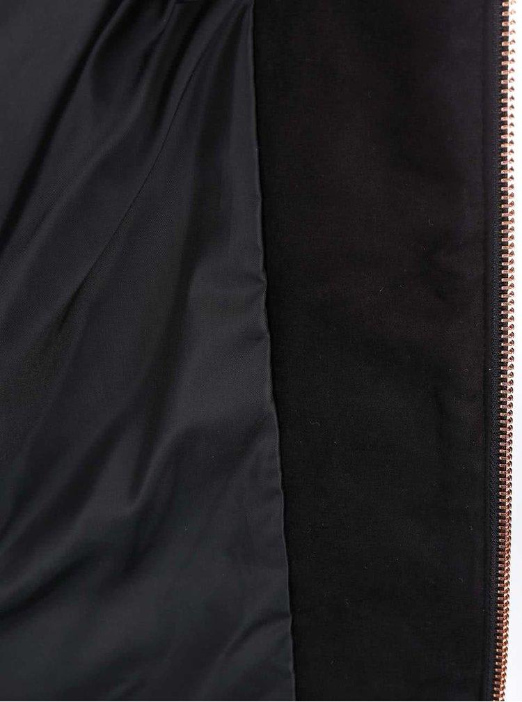 Jacheta neagra matlasata ONLY Yana