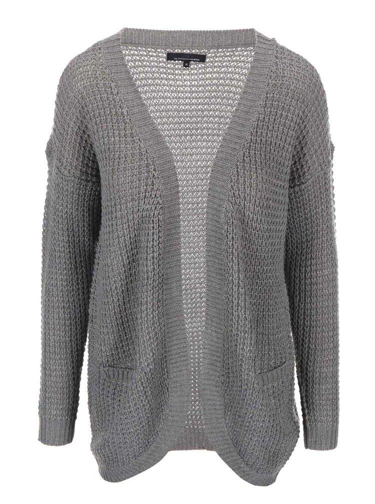 Cardigan Emma tricotat gri de la ONLY