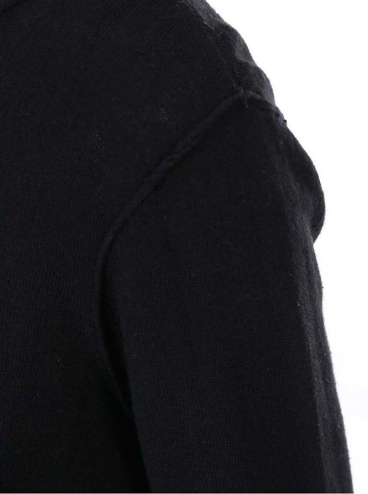 Pulover negru subtire ONLY Lynn