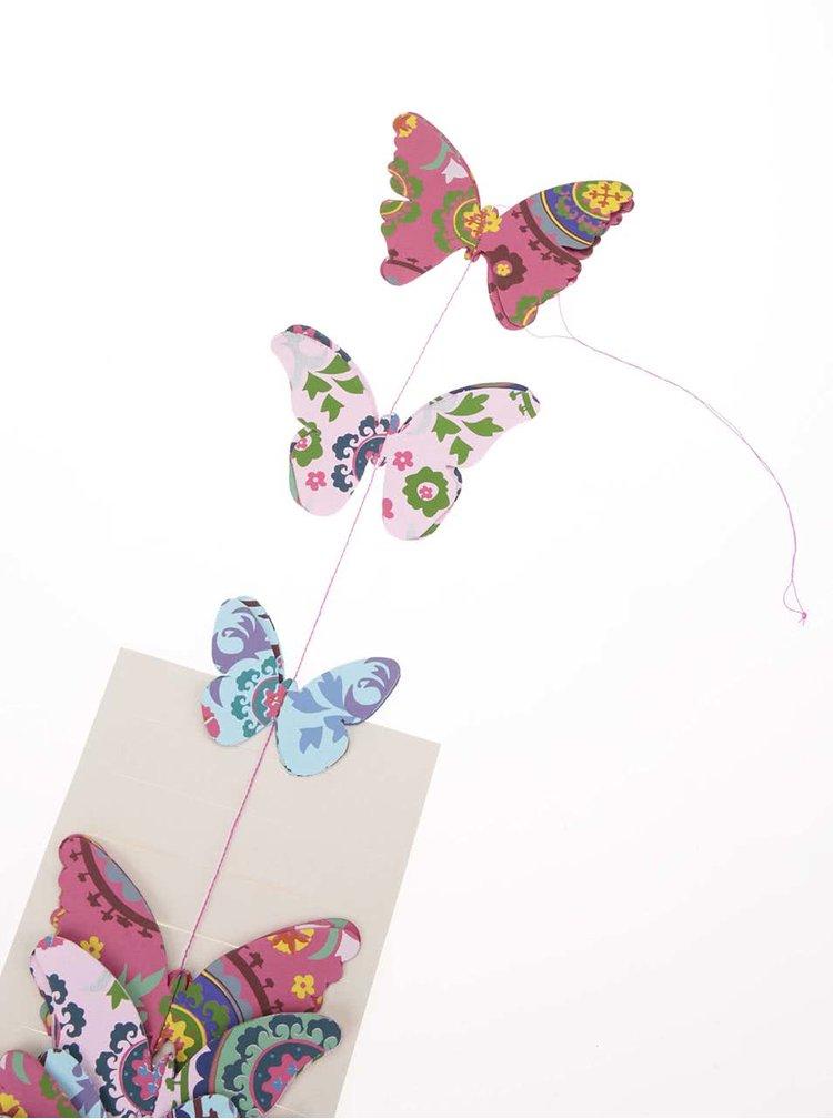 Ghirlandă de fluturi Suzani de la Sass & Belle