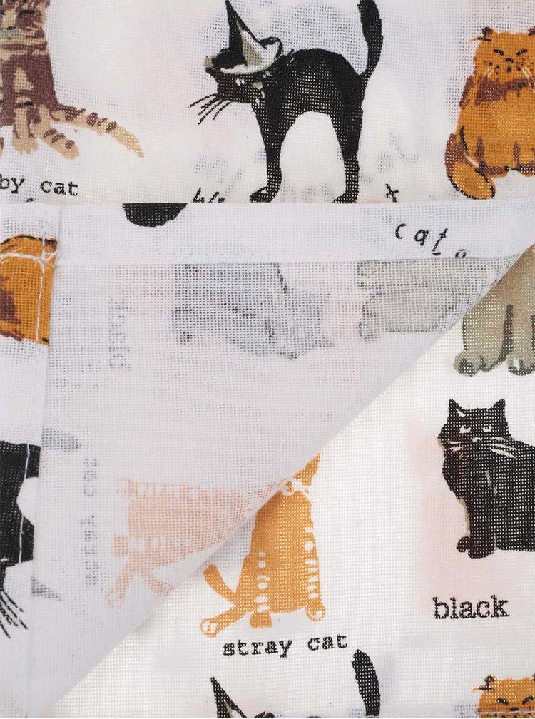 Sada tří utěrek s kočičím motivem Cooksmart Cats