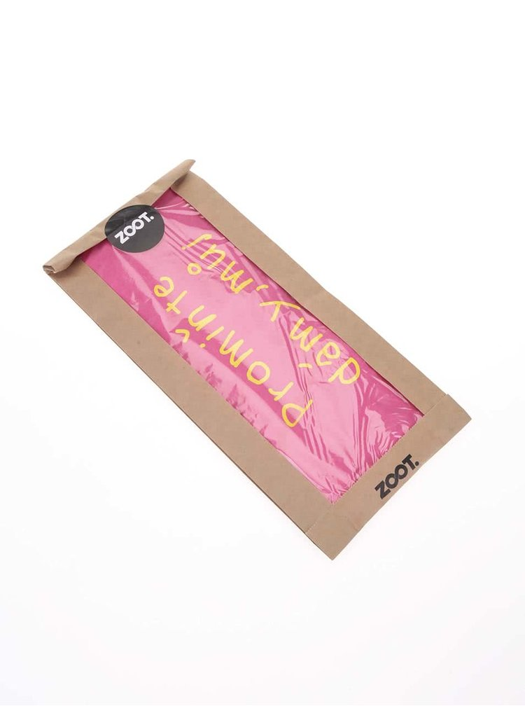 Ružové dievčenské tričko ZOOT Kids Promiňte