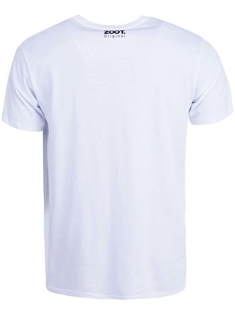Bílé pánské triko ZOOT Originál My Life