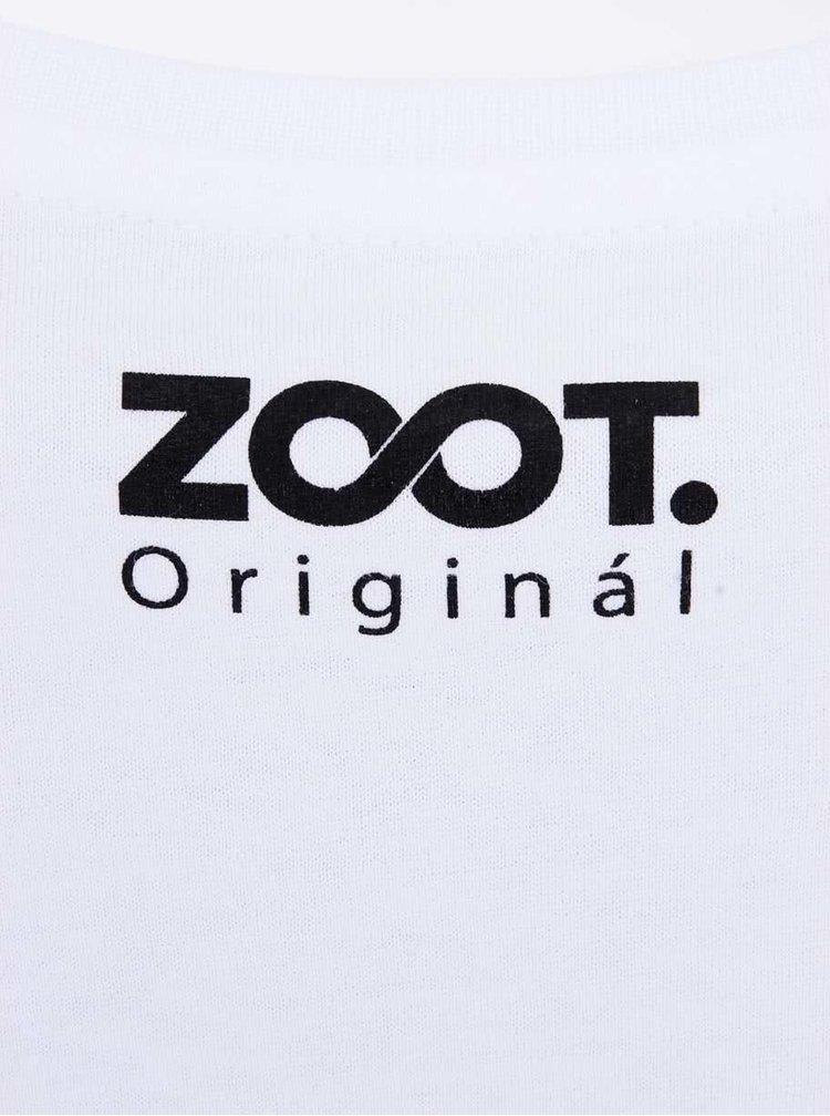 Tricou alb ZOOT Original Her Side of the Heart  pentru femei