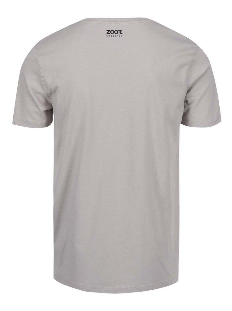 Šedé pánské triko ZOOT Originál Srdce