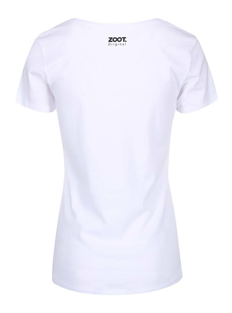 """Tricou pentru femei ZOOT Original """"Self-Îndrăgosteala""""  alb"""