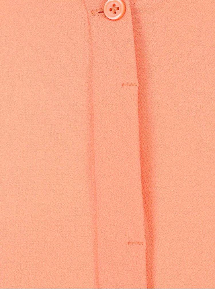 Bluză lungă culoarea piersicii VERO MODA Daniel