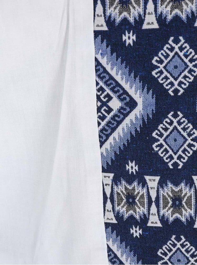 Blazer albastru cu model VERO MODA Kikijoh