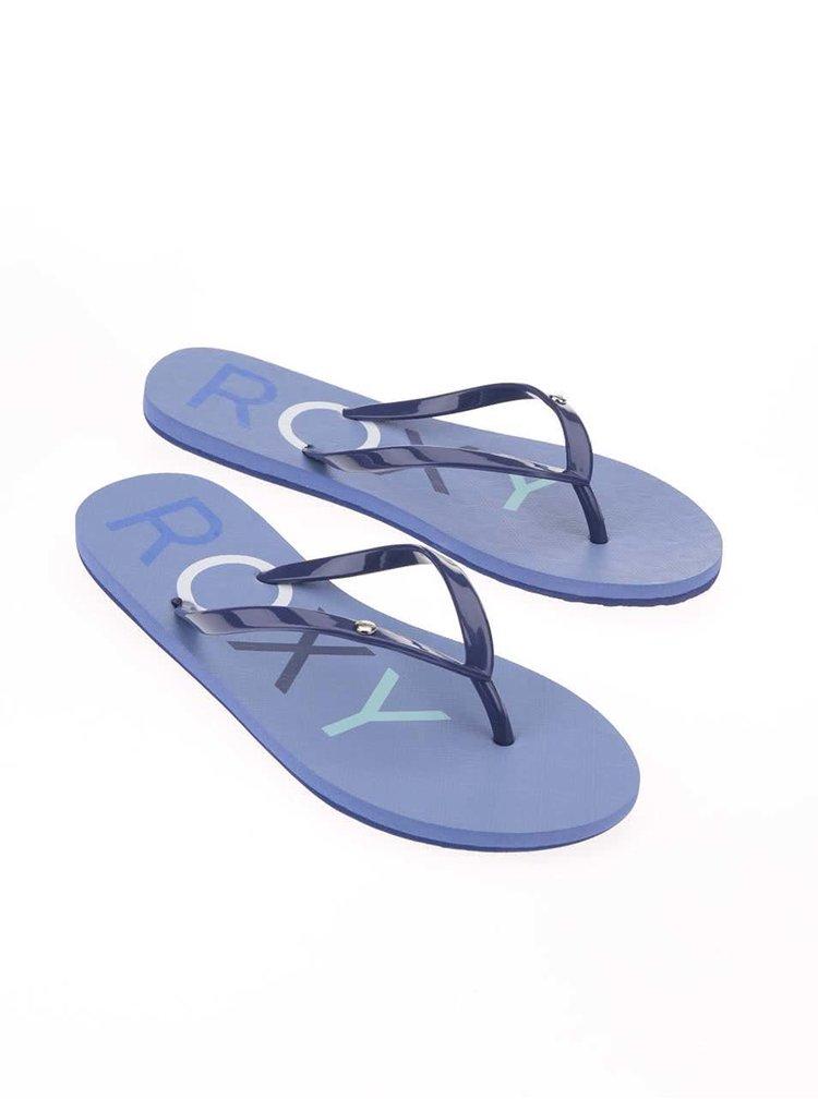 Papuci albaștri Roxy Sandy