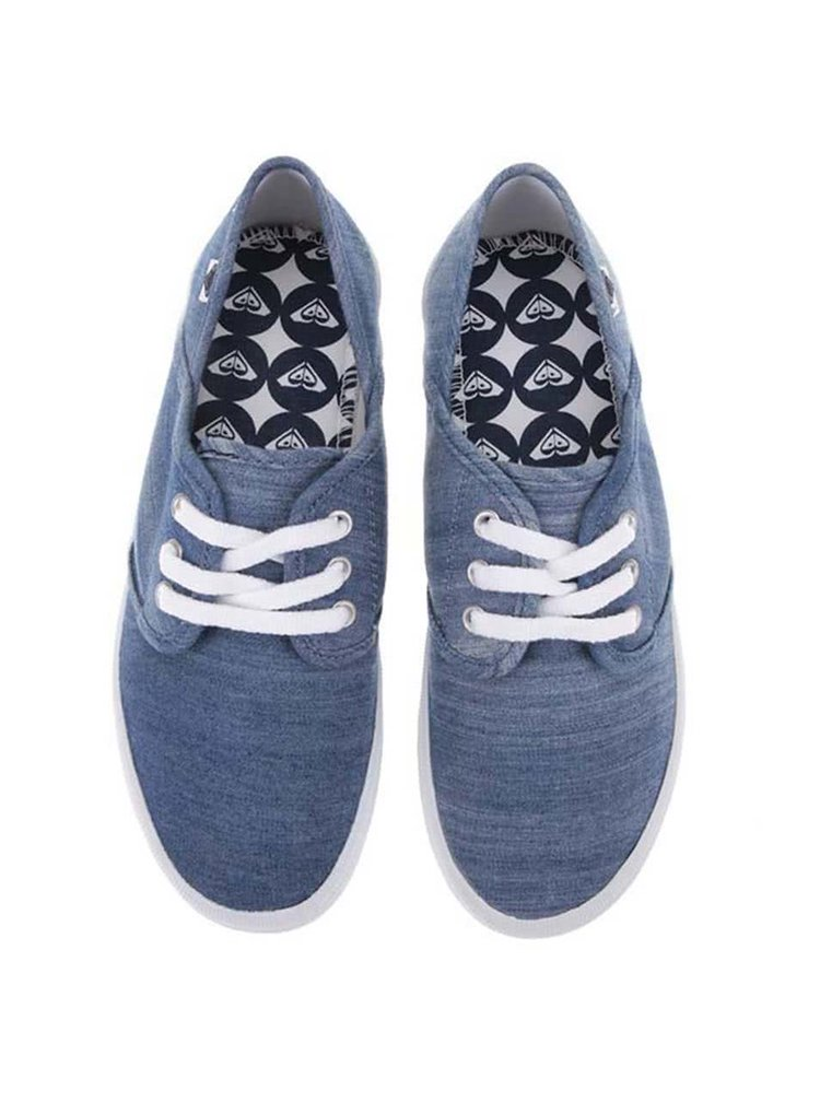Modré denimové tenisky Roxy Hermosa II