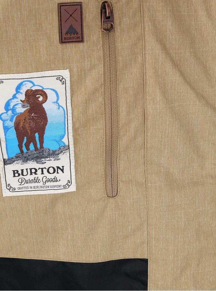 Béžová pánská bunda Burton Davis
