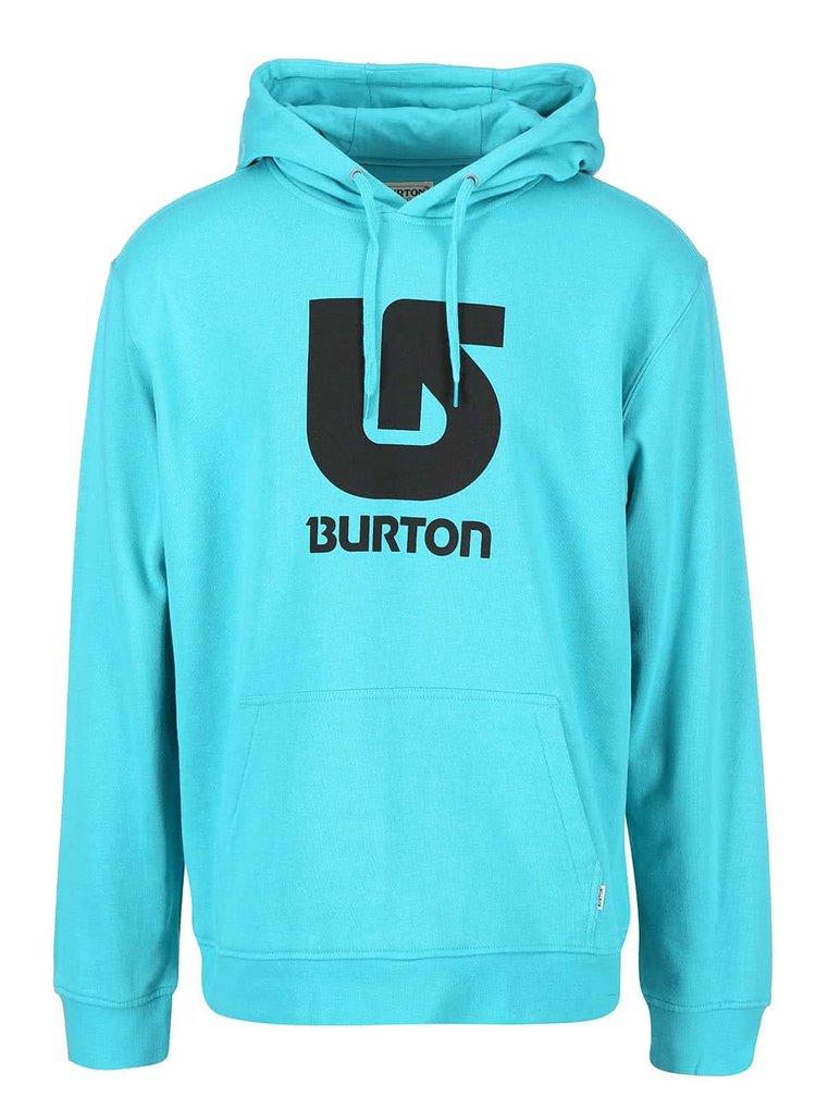 Hanorac barbatesc turcoaz Burton Logo Vertical