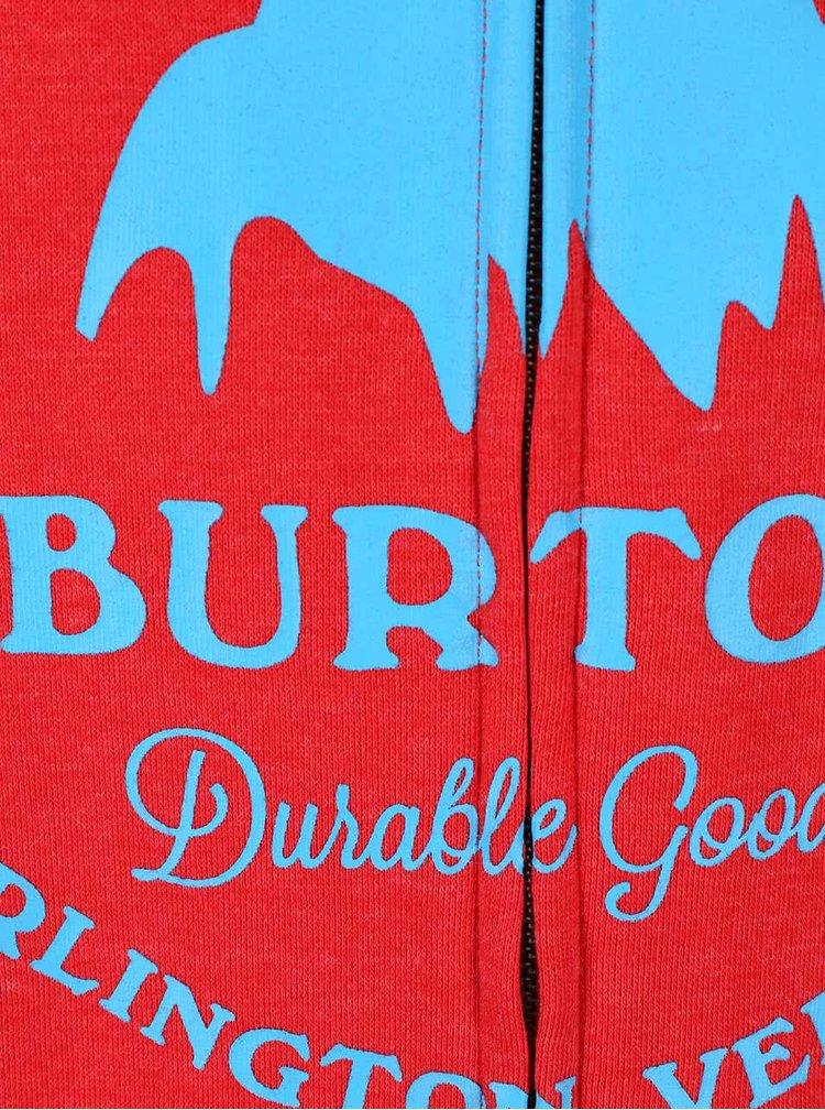 Hanorac bărbătesc roșu cu fermoar Burton Gristmill