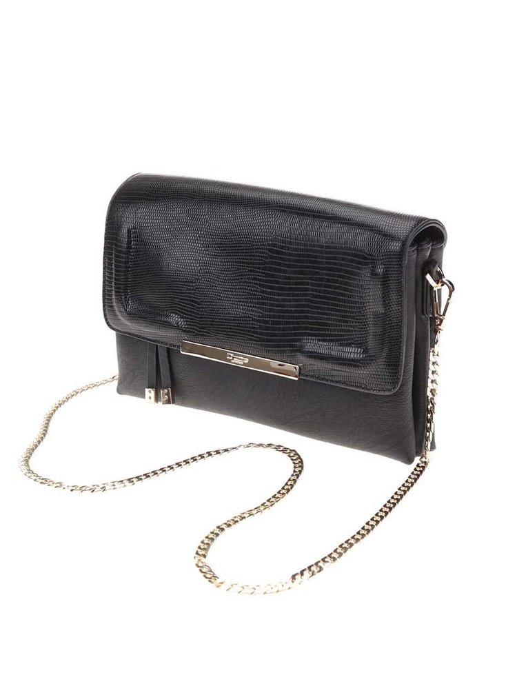 Černá menší kabelka Dune London Emory