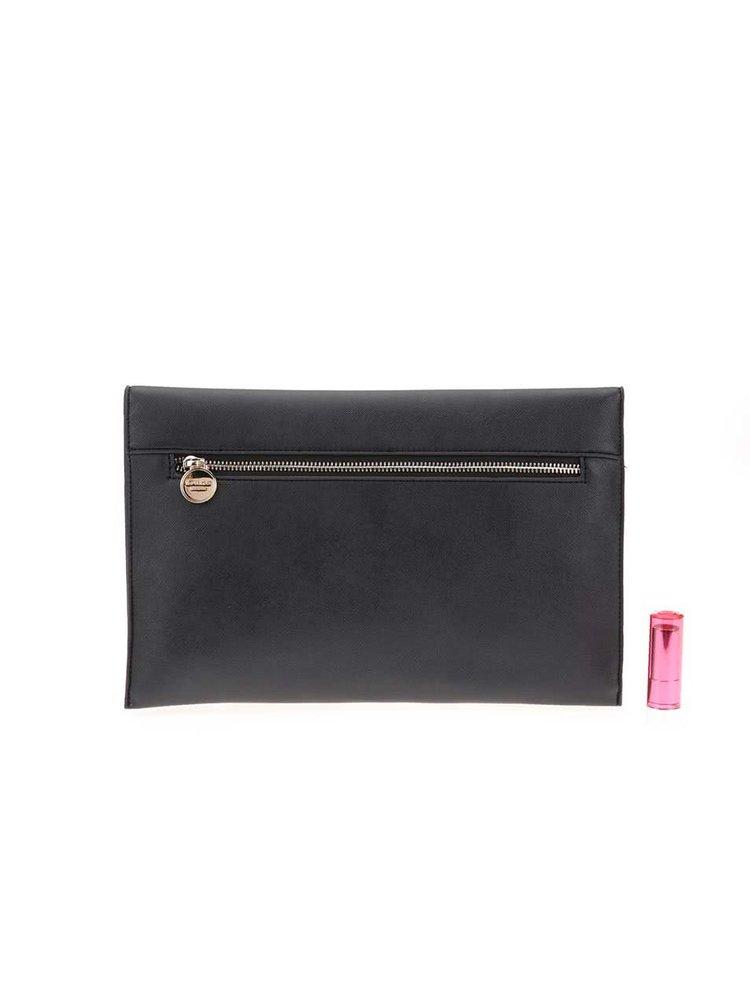 Čierna väčšia listová kabelka Dune London Elvina