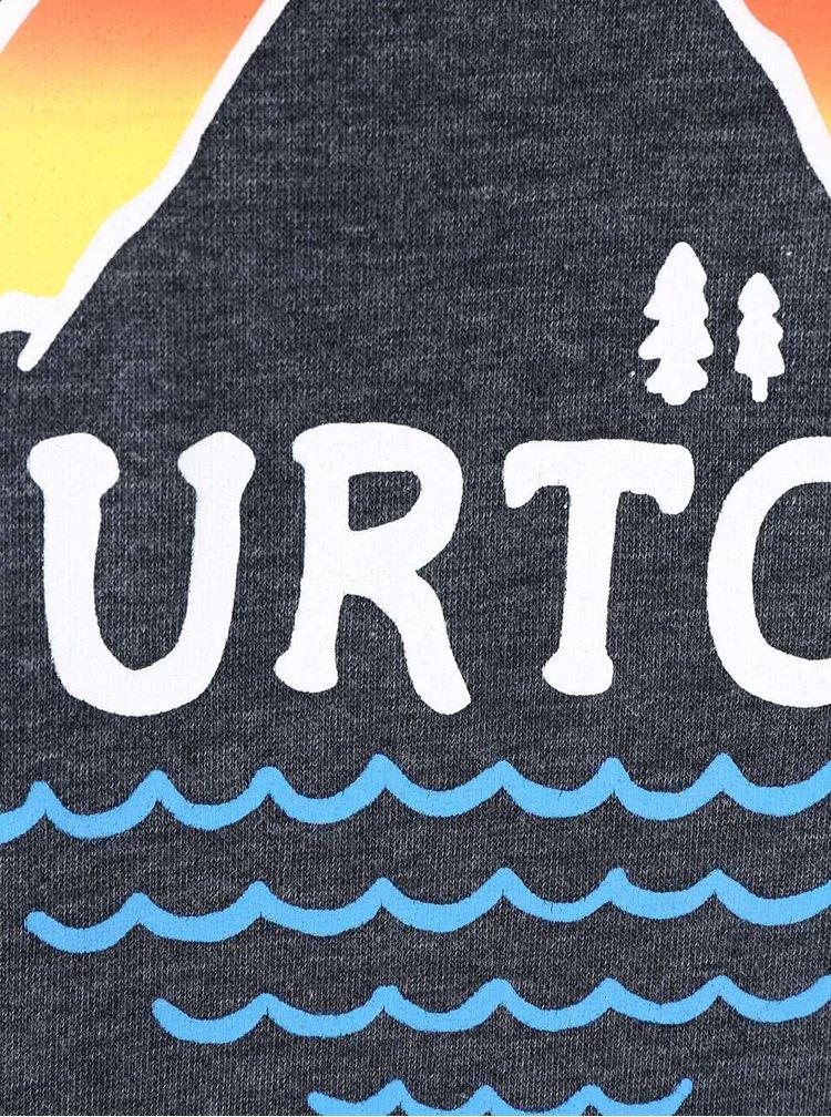 Bluza barbateasca gri inchis Burton Panorama Crew
