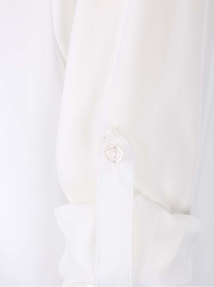Bluză albă cu nasturi Dorothy Perkins