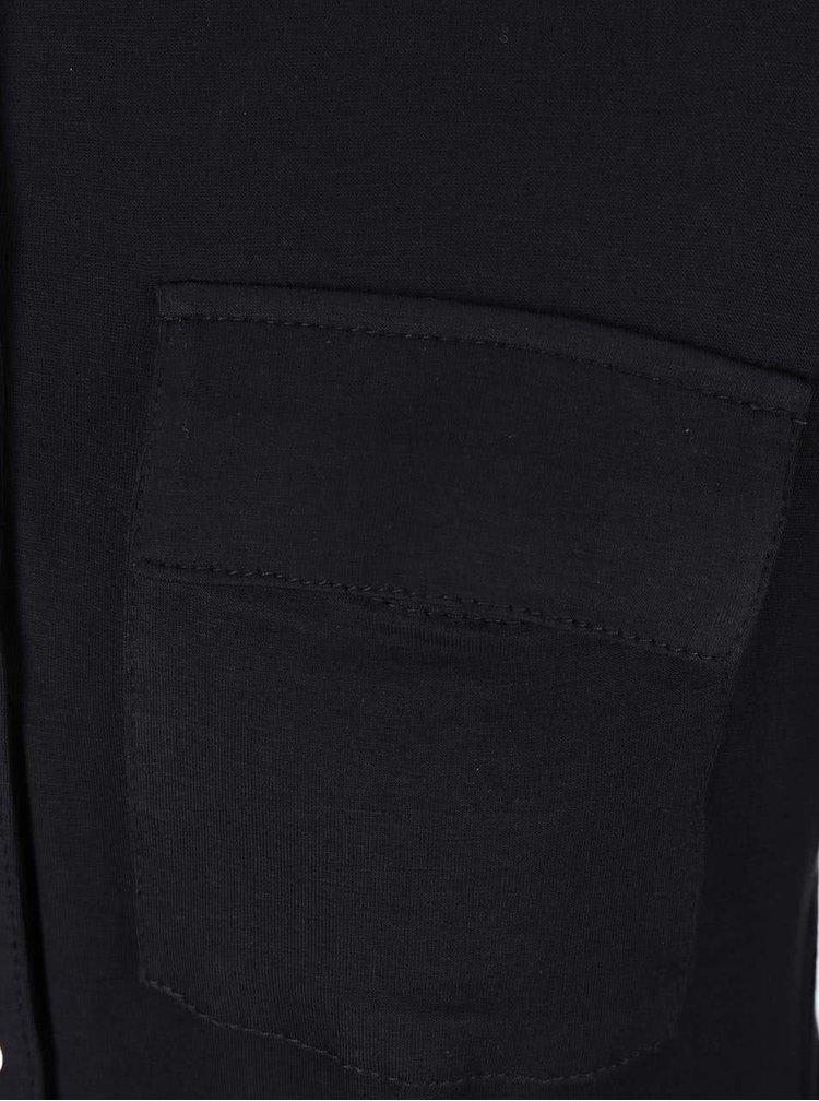 Rochie tip cămașă neagră Dorothy Perkins