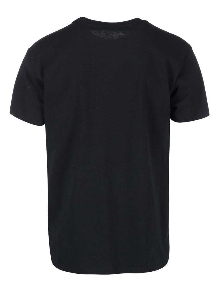 Černé pánské triko Burton Stamped Mountain