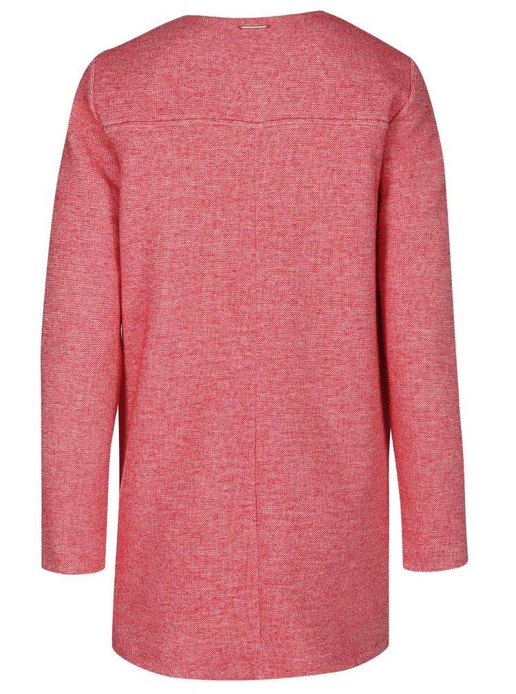 Červený dámsky kabát s.Oliver