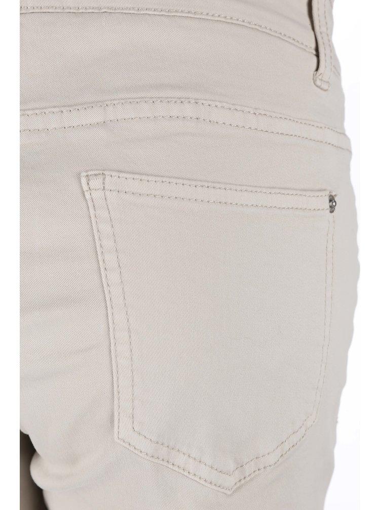 Béžové dámské kalhoty s.Oliver