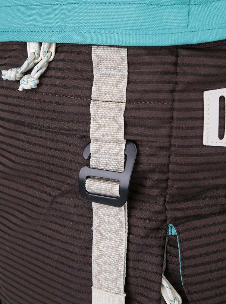 Rucsac turcoaz și maro cu detalii gri Burton Annex
