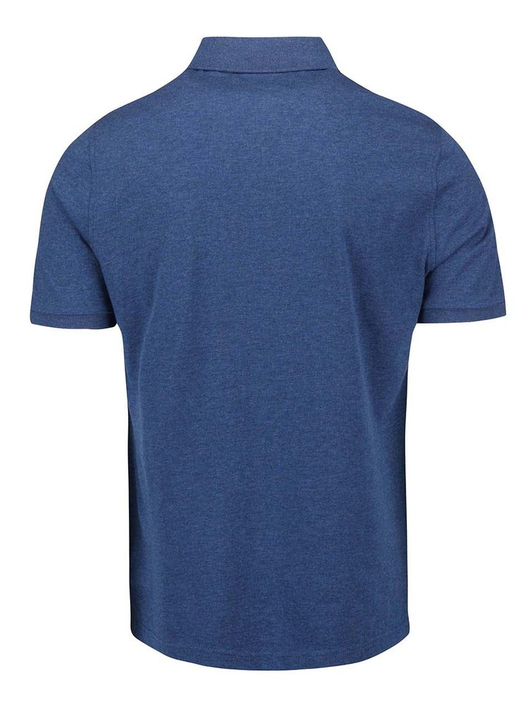 Modré vzorované polo triko Original Penguin Desmet