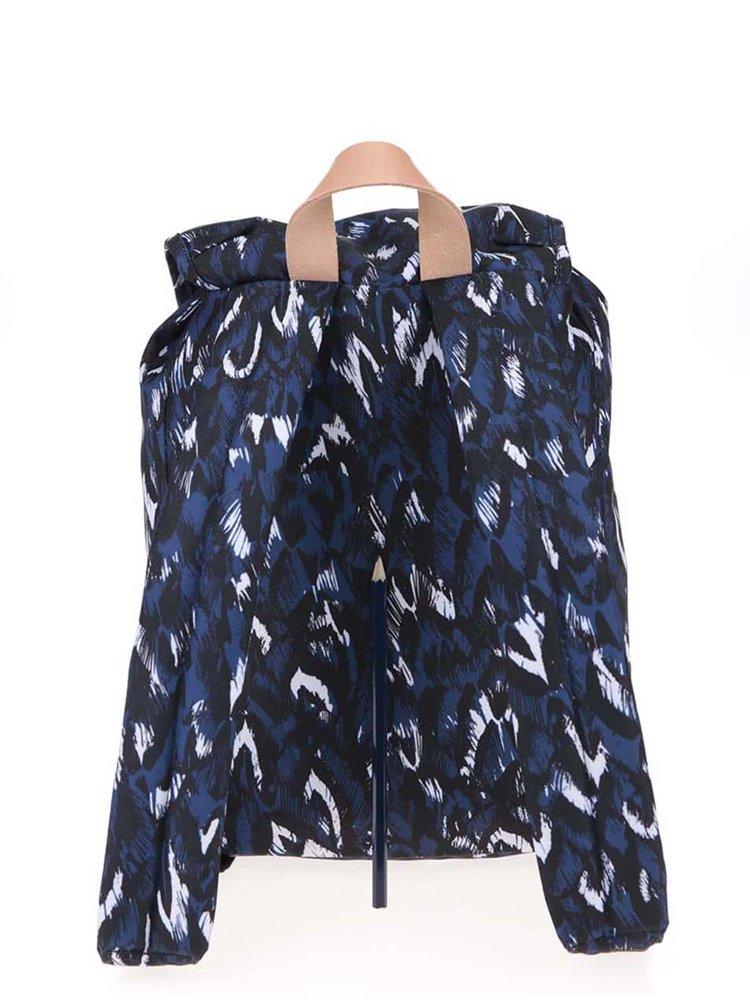 Rucsac de dama cu model albastru si negru Eastpak Krystal