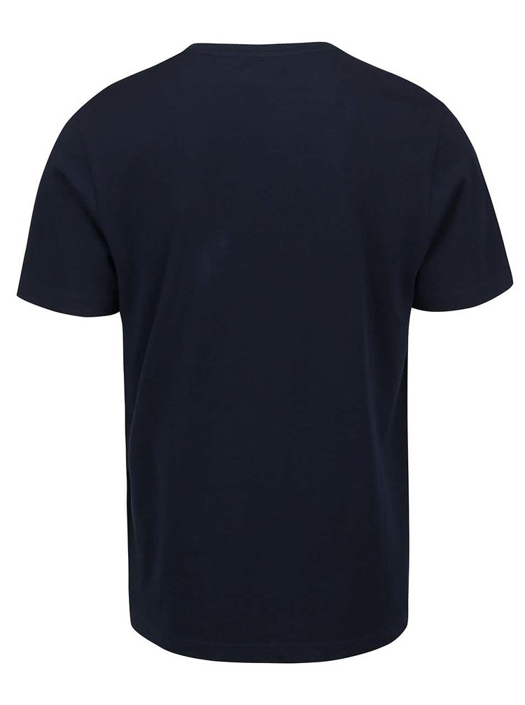 Tmavě modré triko s potiskem Original Penguin Logo Tee