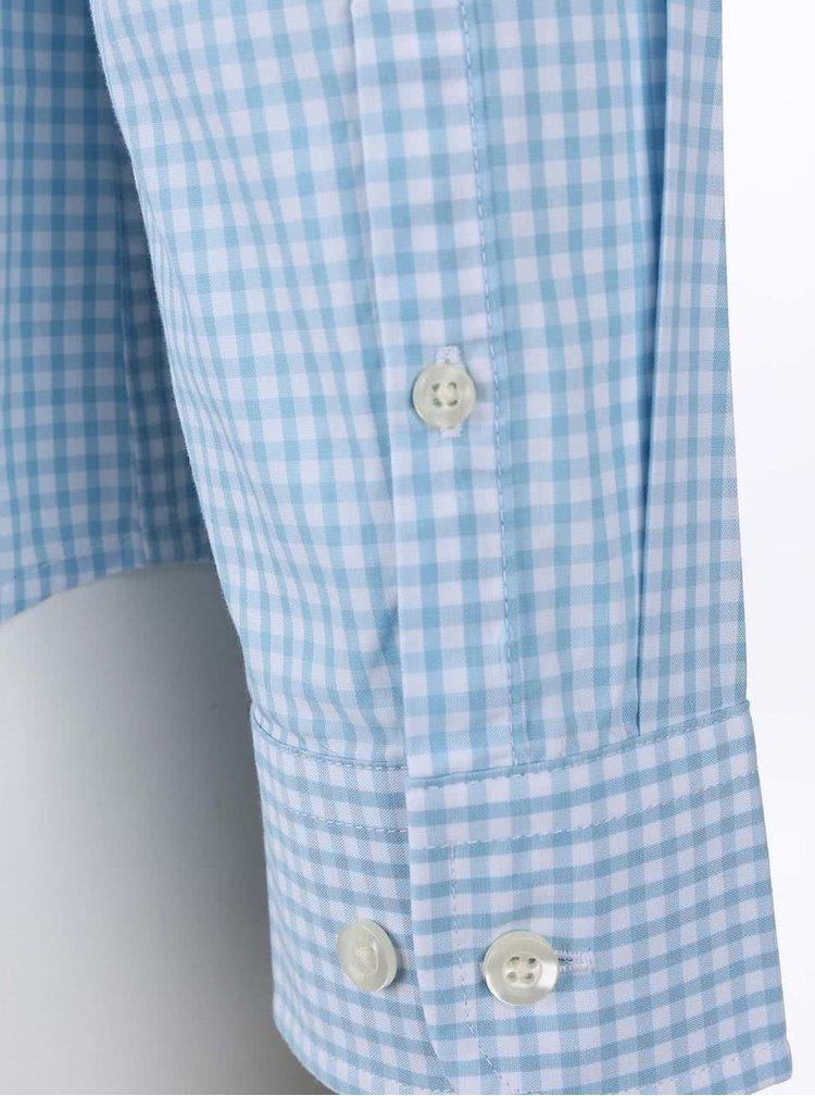 Svetlomodrá kockovaná košeľa Original Penguin Belan