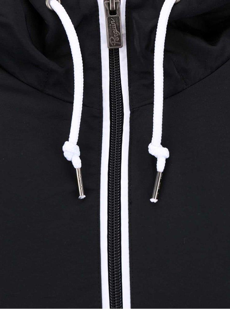 Čierna ľahká bunda Original Penguin Ratner
