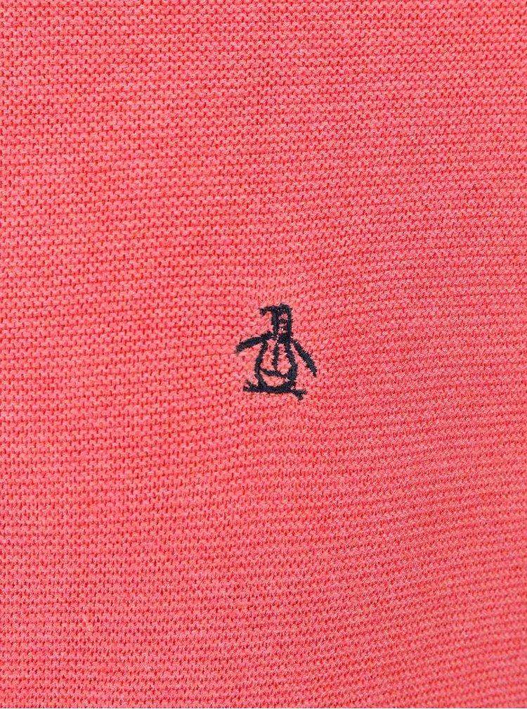 Pulover rosu corai Original Penguin Mason