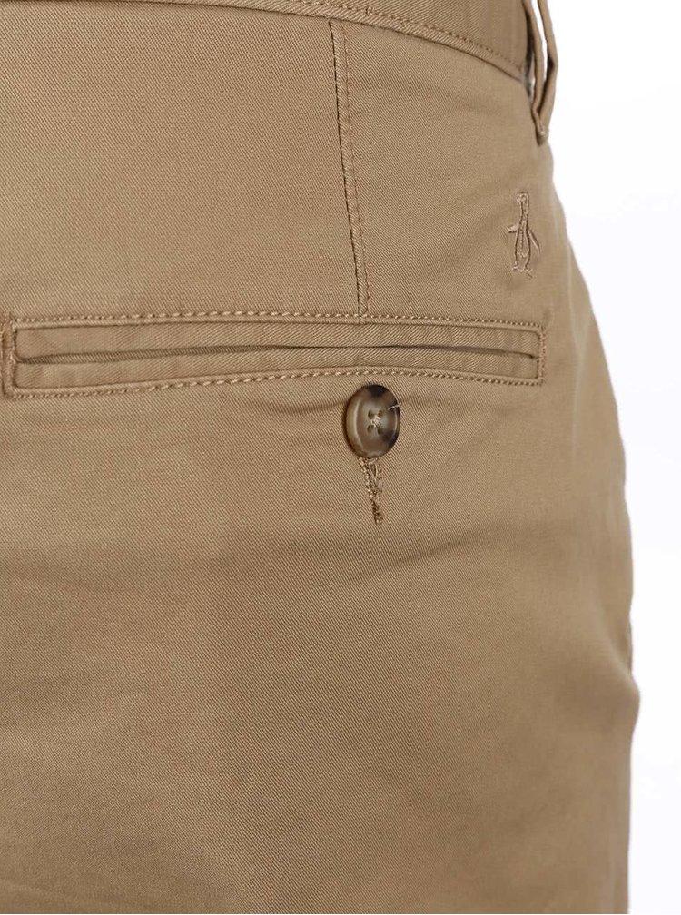 Hnědé chino kalhoty Original Penguin Fracus
