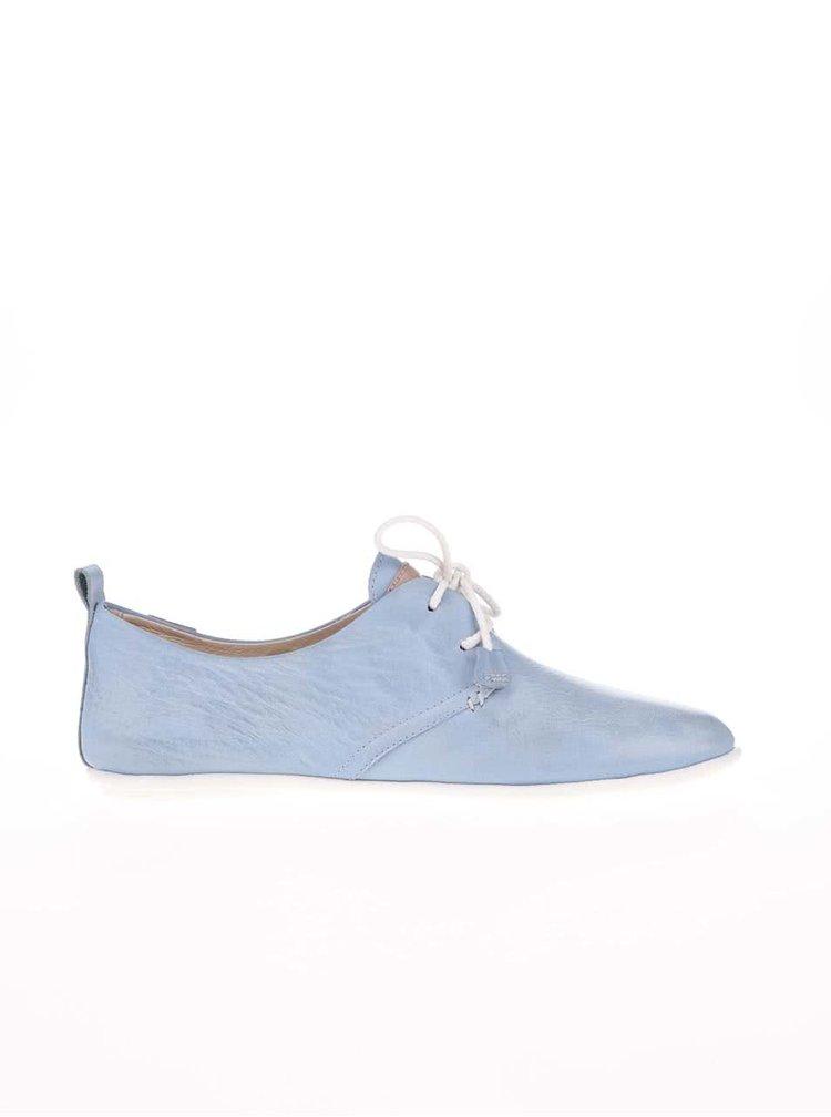 Pantofi din piele albaștri Pikolinos Calabria