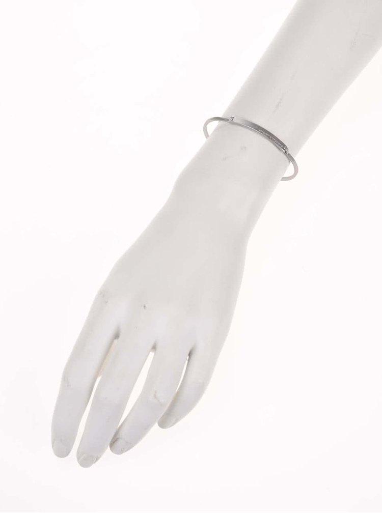 Náramek ve stříbrné barvě Pieces Tag
