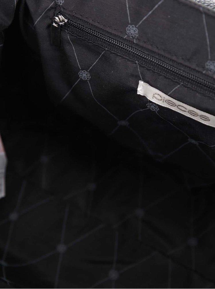 Černá crossbody kabelka Pieces Navali