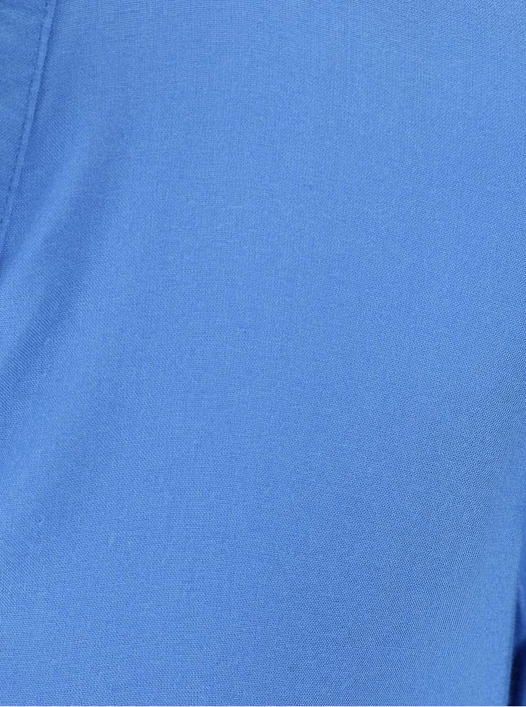 Modrá halenka s dlouhým rukávem VERO MODA Paja