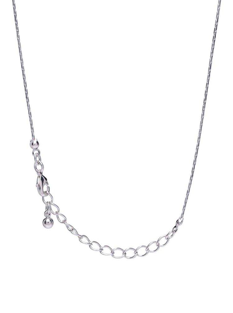 Náhrdelník s přívěskem ve tvaru amora ve stříbrné barvě ZOOT Originál