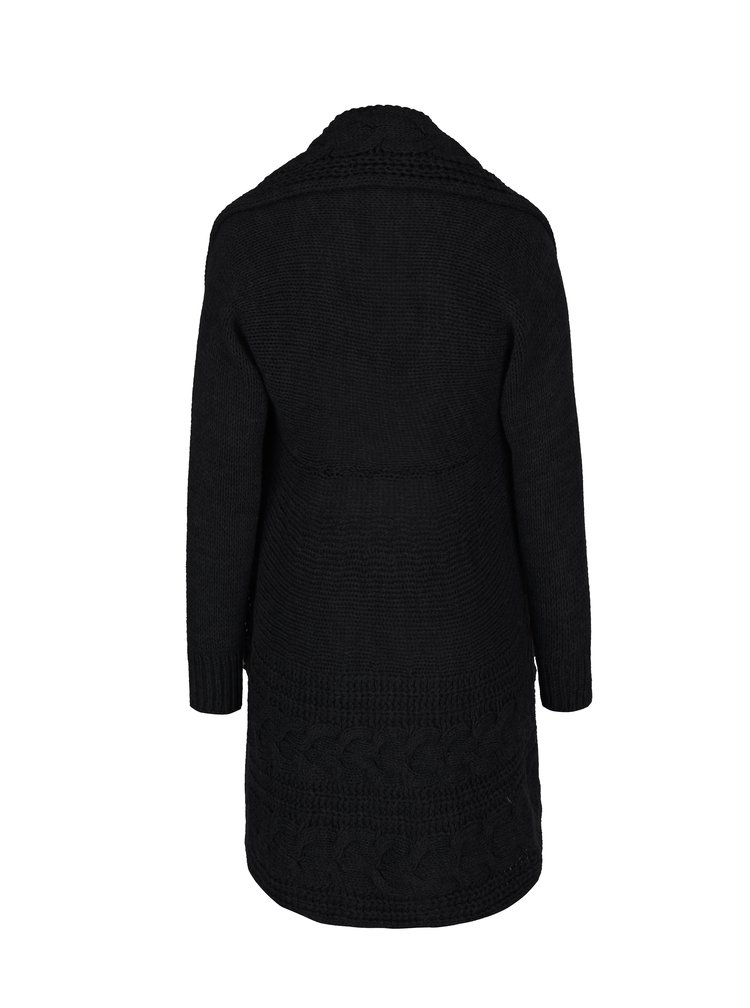Černý pletený cardigan Madonna Tyra