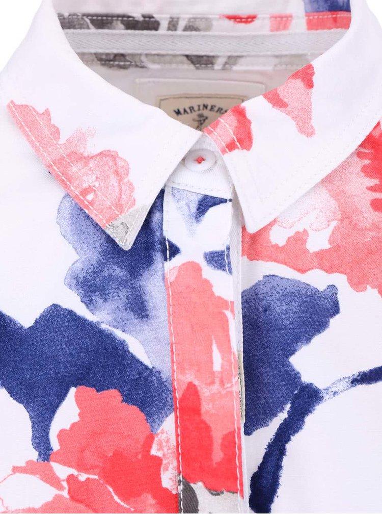 Bluză albă cu imprimeu floral Tom Joule Clovelly
