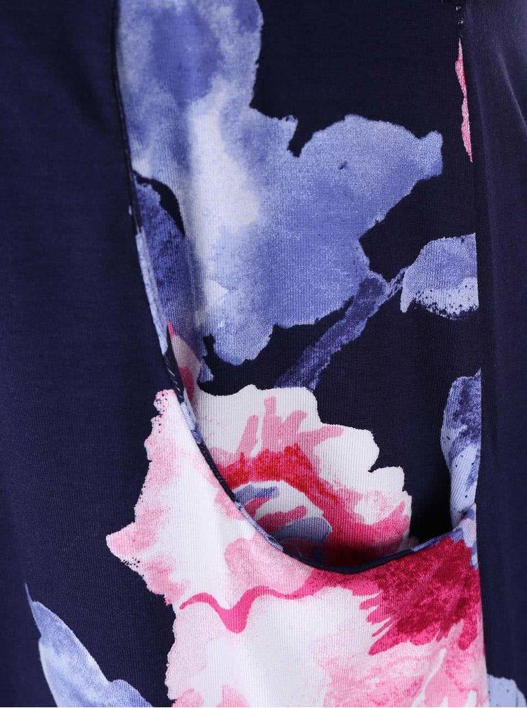 Tunică bleumarin cu imprimeu floral Tom Joule Lizzie