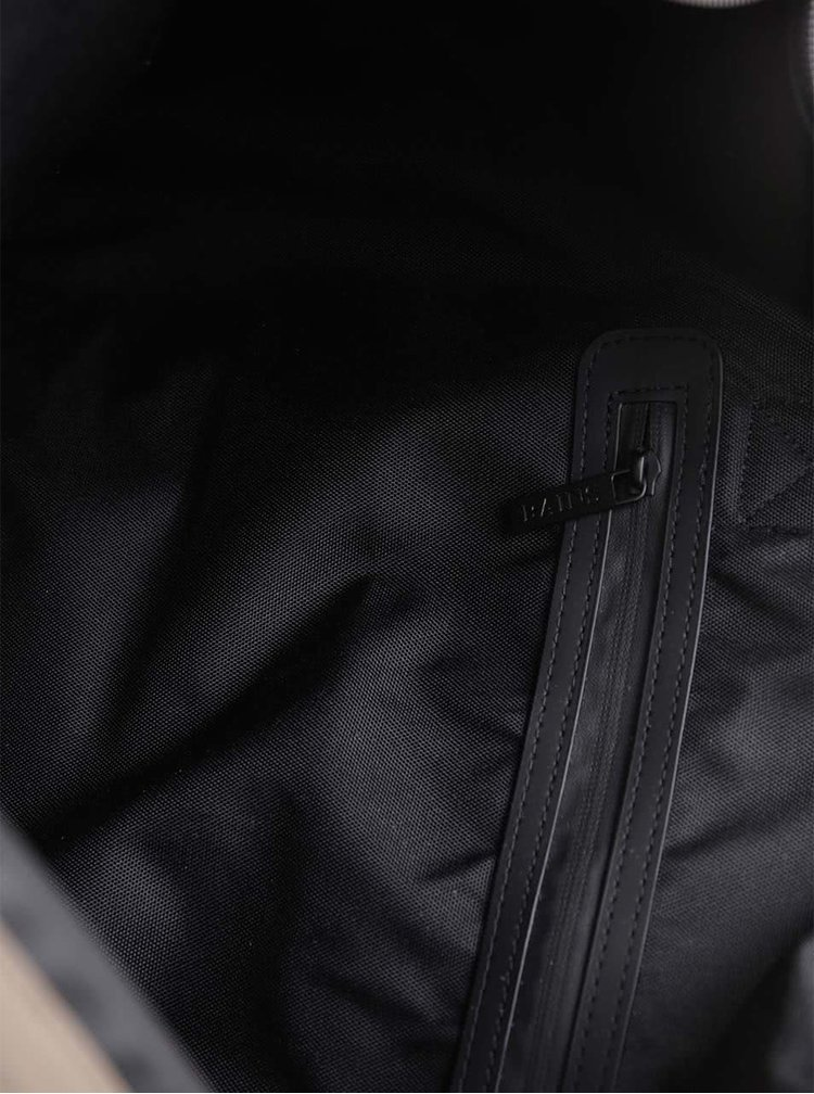 Světle hnědá cestovní taška s delšími uchy RAINS