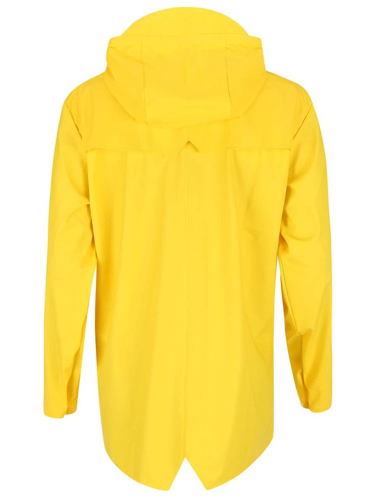 Žlutá pláštěnka s kapucí RAINS