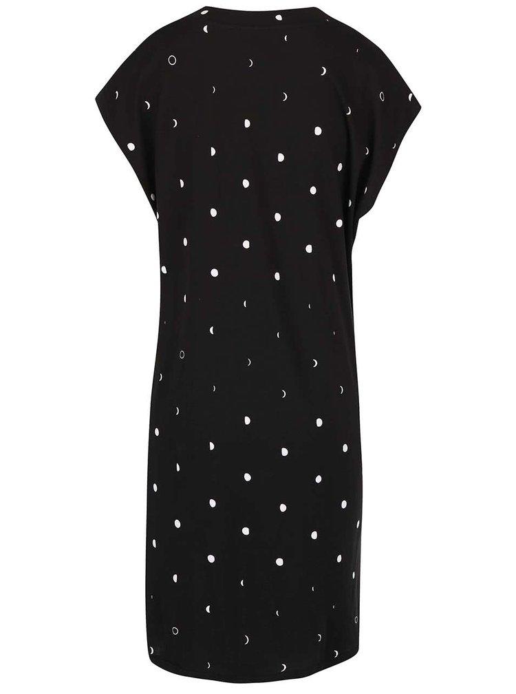 Čierne šaty s bodkami Cheap Monday Capsule