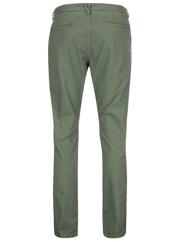 Zelené chino kalhoty ONLY & SONS Sharp
