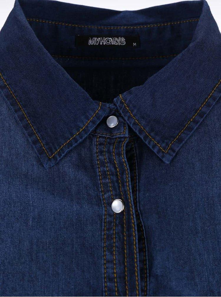 Tmavě modrá denimová košile Haily´s Gemma