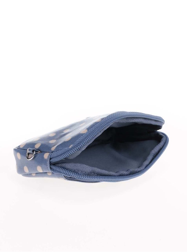 Modrá puntíkovaná taštička na fotoaparát Cath Kidston