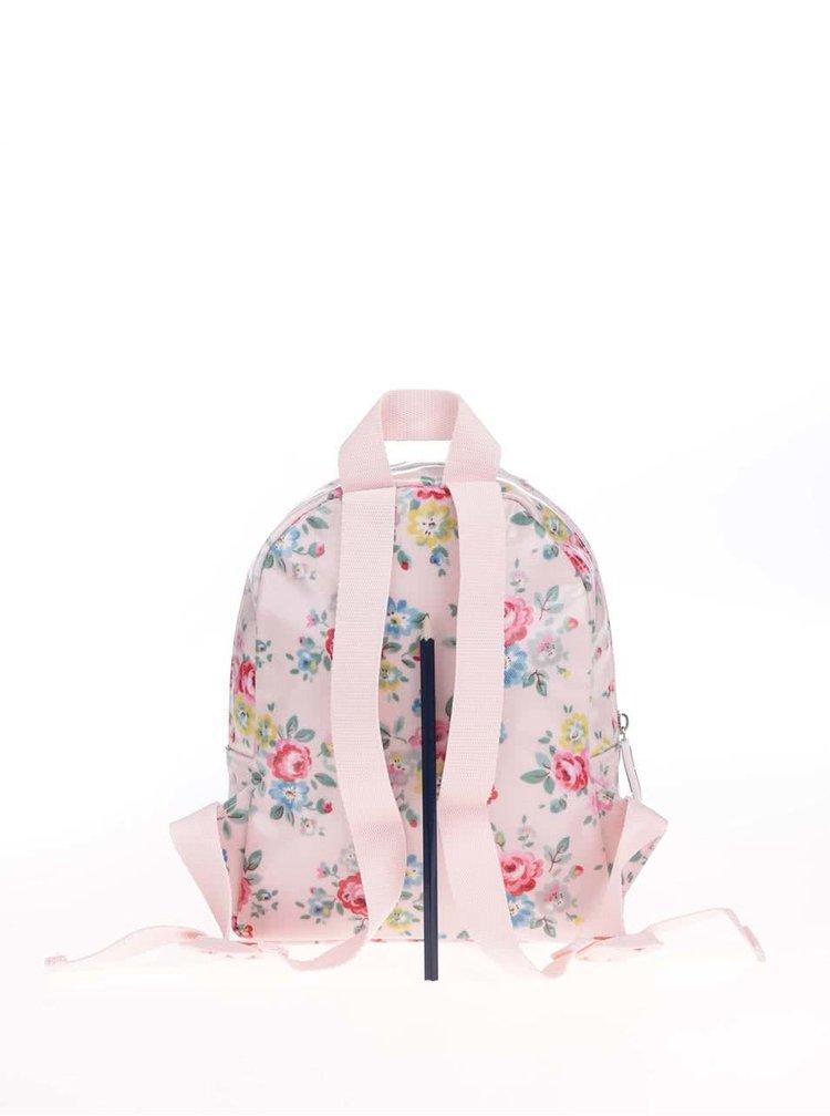 Růžový holčičí batoh s potiskem květin Cath Kidston